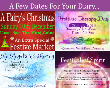 Holistic Therapy Day, An Angels Gathering, Festival of Spirit, 2018 MBS Events