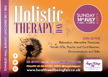 Holistic Therapy Day 2019 Burnley Lancashire