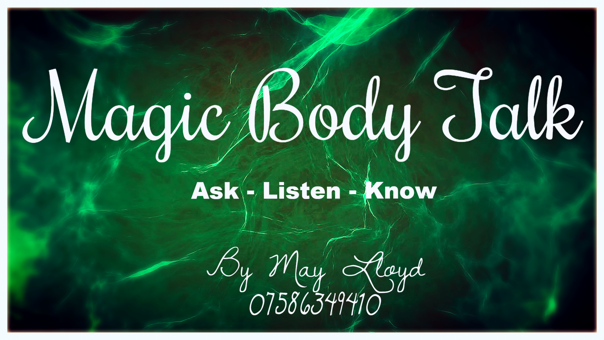 Magic Body Talk by May Lloyd